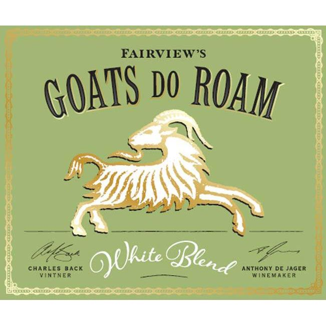 Goats do Roam White 2019  Front Label