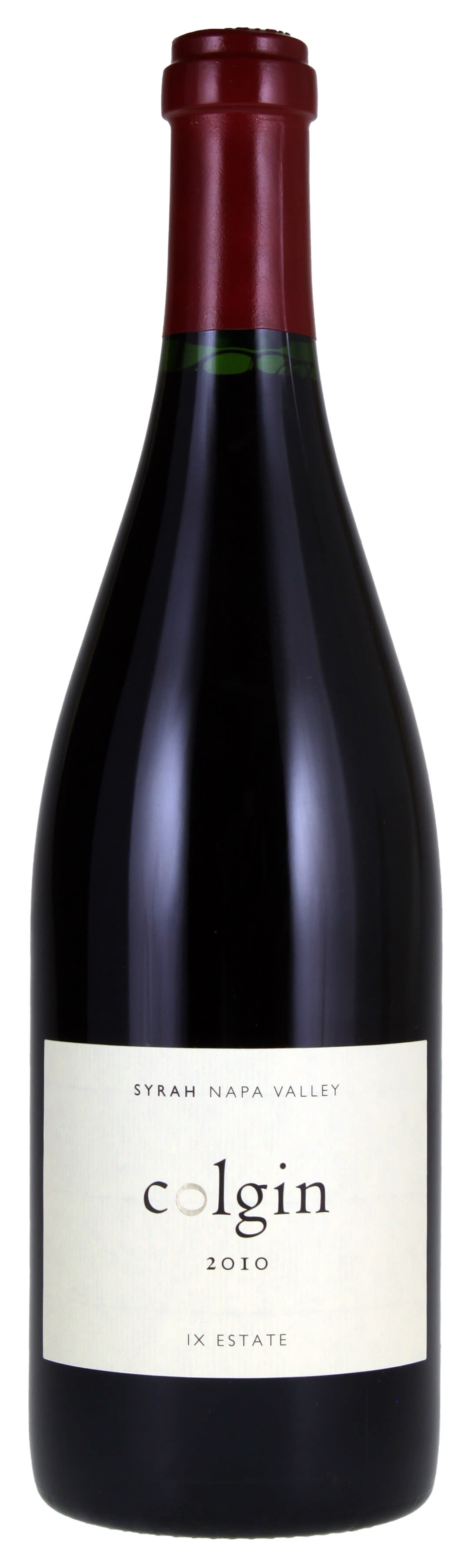 Colgin IX Estate Syrah 2010  Front Bottle Shot
