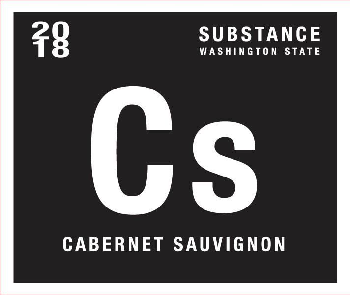 Substance Cabernet Sauvignon 2018  Front Label