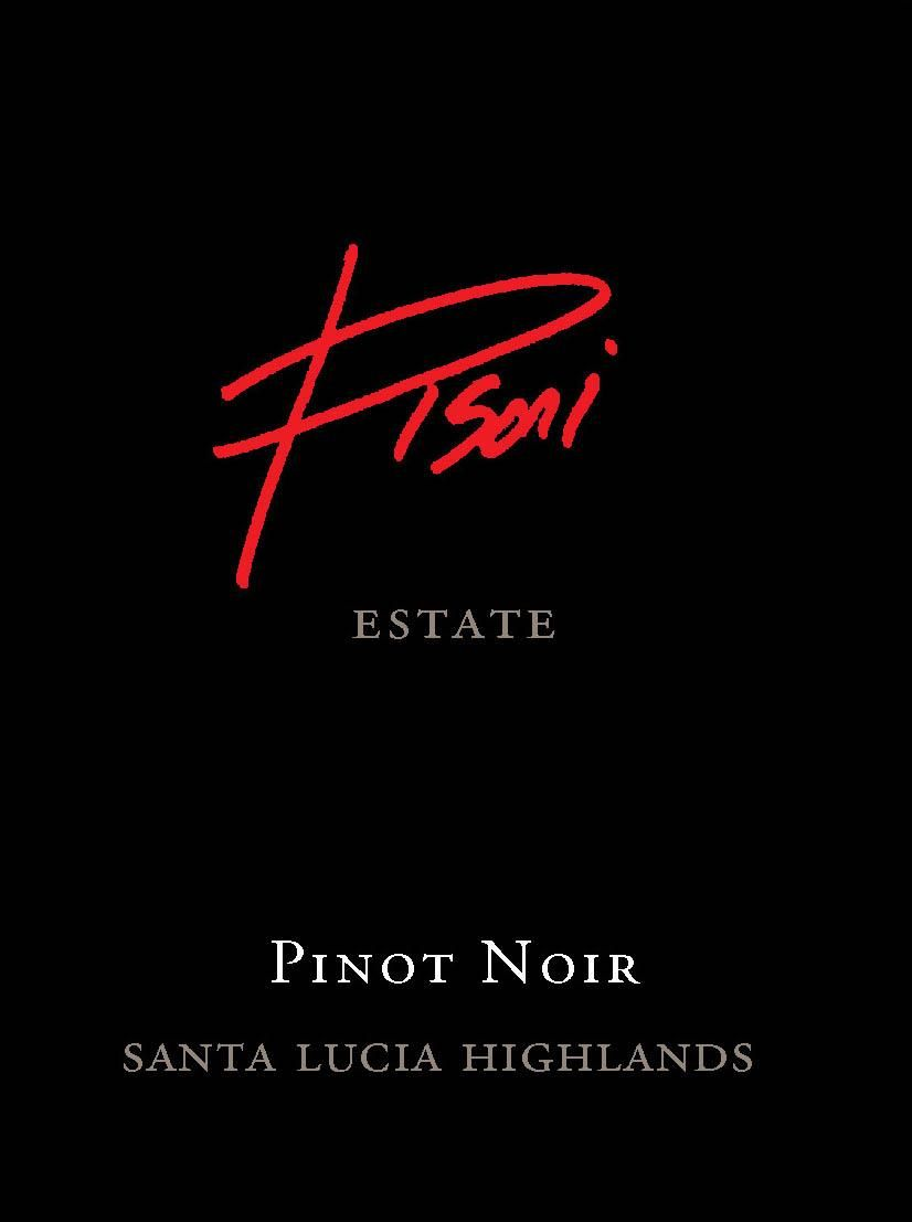 Pisoni Vineyards Estate Pinot Noir 2017  Front Label