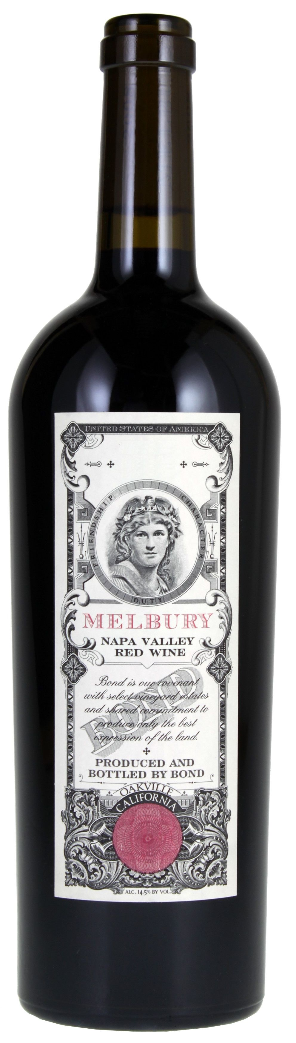 Bond Melbury 2005  Front Bottle Shot