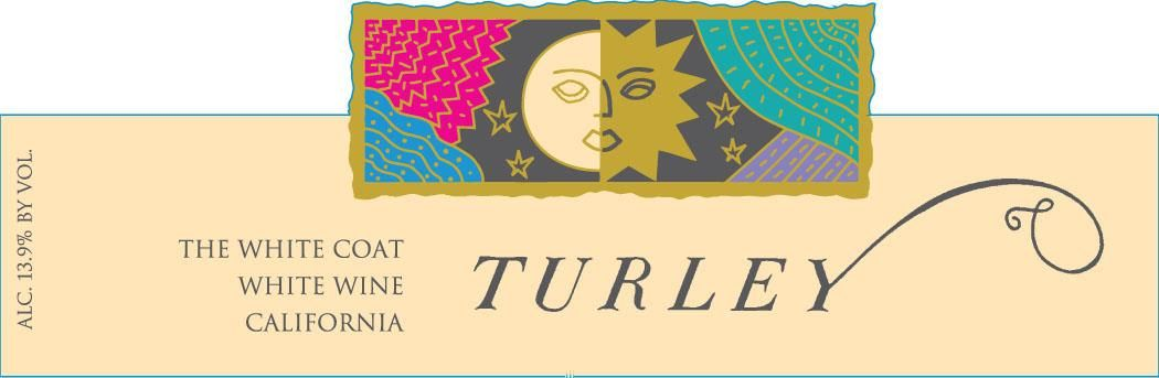 Turley The White Coat White Blend 2017  Front Label