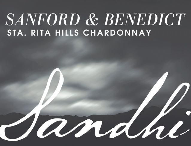 Sandhi Sanford and Benedict Chardonnay 2018  Front Label
