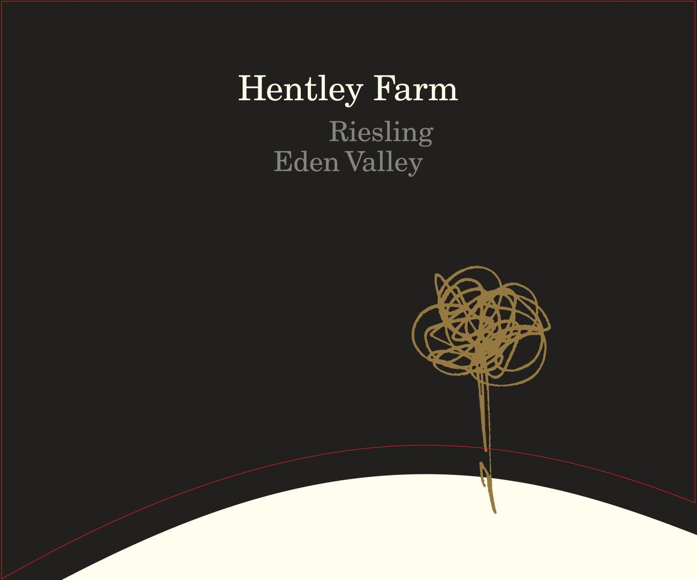 Hentley Farm Riesling 2016  Front Label
