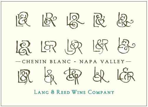 Lang & Reed Napa Valley Chenin Blanc 2018  Front Label