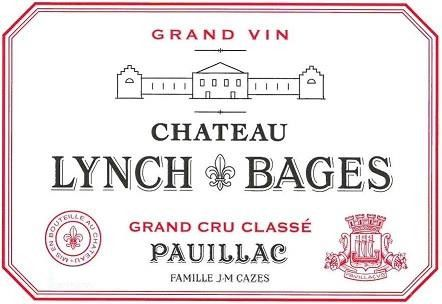 Chateau Lynch-Bages (Futures Pre-Sale) 2019  Front Label