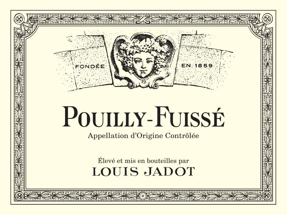 Louis Jadot Pouilly-Fuisse (375ML half-bottle) 2018  Front Label