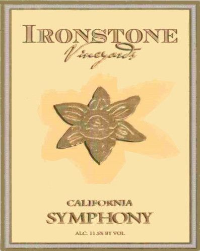 Ironstone Symphony 2004  Front Label