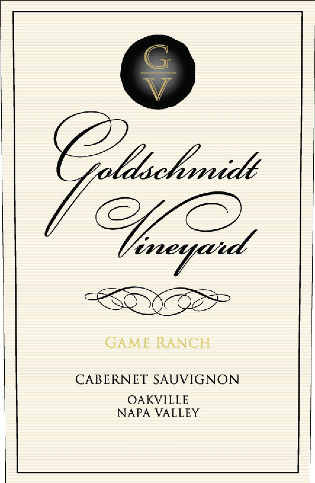 Goldschmidt Vineyard Game Ranch Cabernet Sauvignon 2016  Front Label