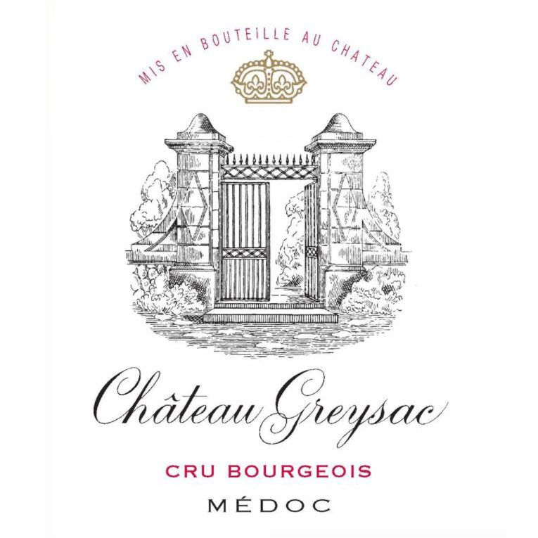Chateau Greysac  2015  Front Label