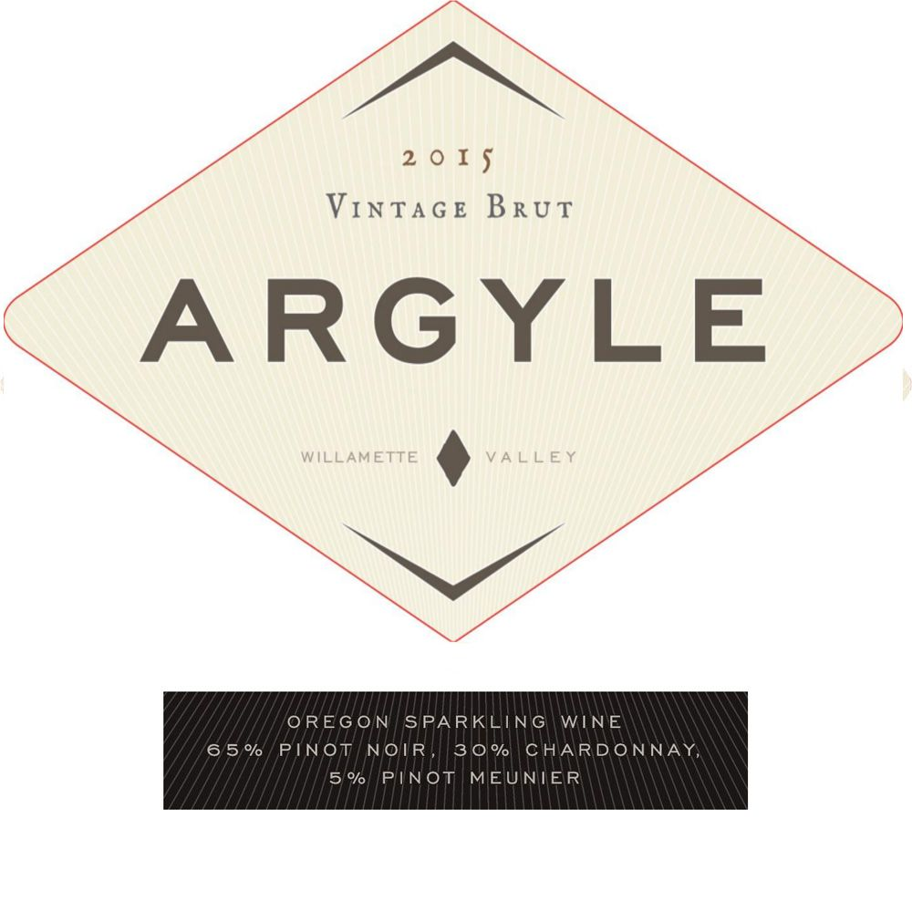 Argyle Brut 2015 Front Label