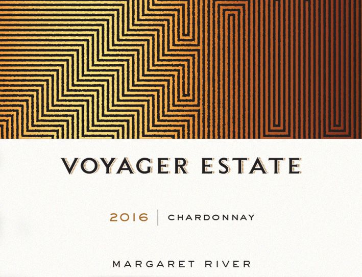 Voyager Estate Chardonnay 2016  Front Label