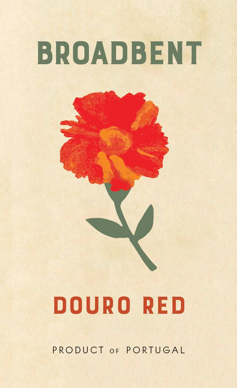 Broadbent Douro Red 2019  Front Label