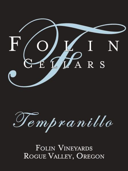 Folin Cellars Tempranillo 2012  Front Label