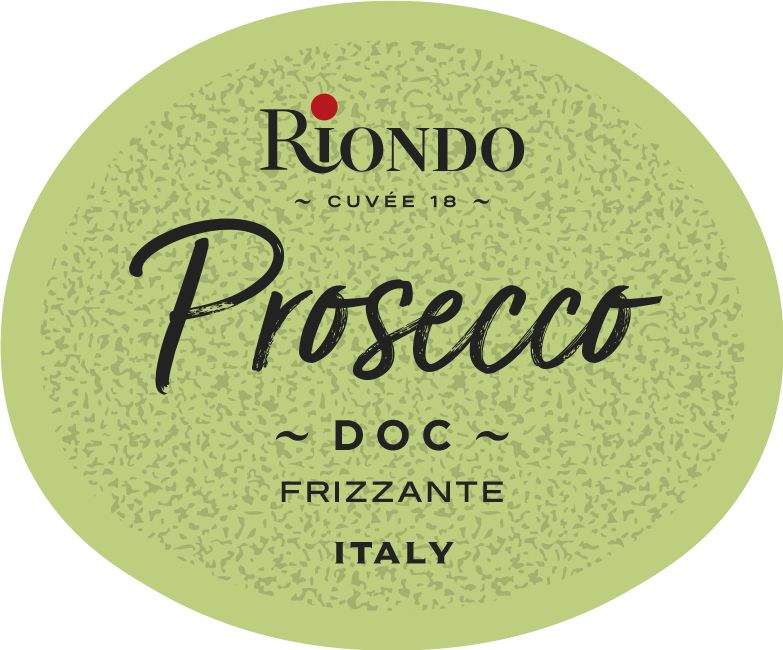 Riondo Prosecco (187ML Split)  Front Label