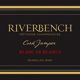 Riverbench Cork Jumper Blanc de Blancs 2015 Front Label