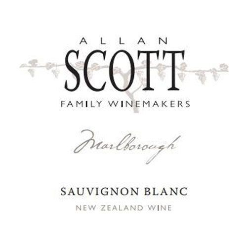 Allan Scott Marlborough Sauvignon Blanc 2020  Front Label