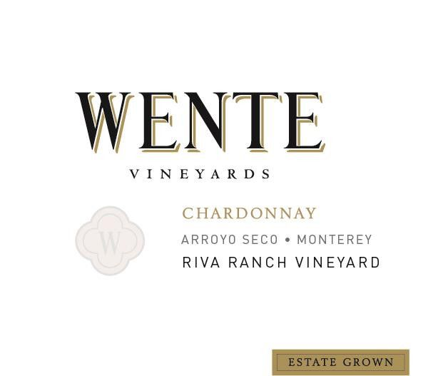 Wente Riva Ranch Chardonnay 2018 Front Label