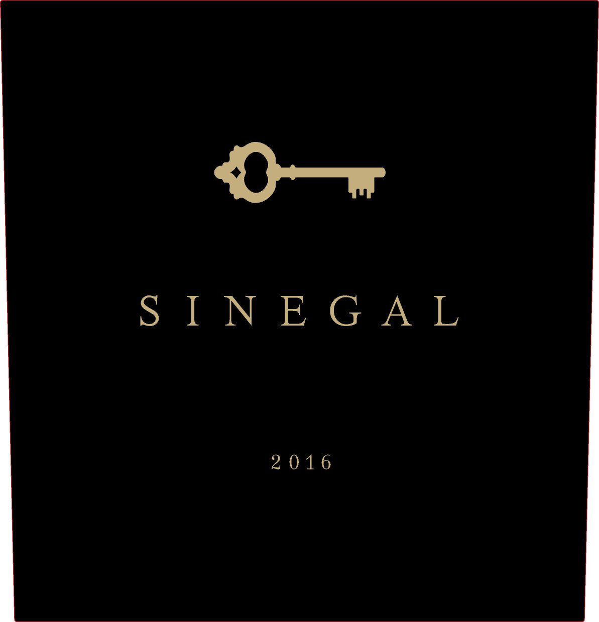Sinegal Estate Reserve Cabernet Sauvignon 2016  Front Label