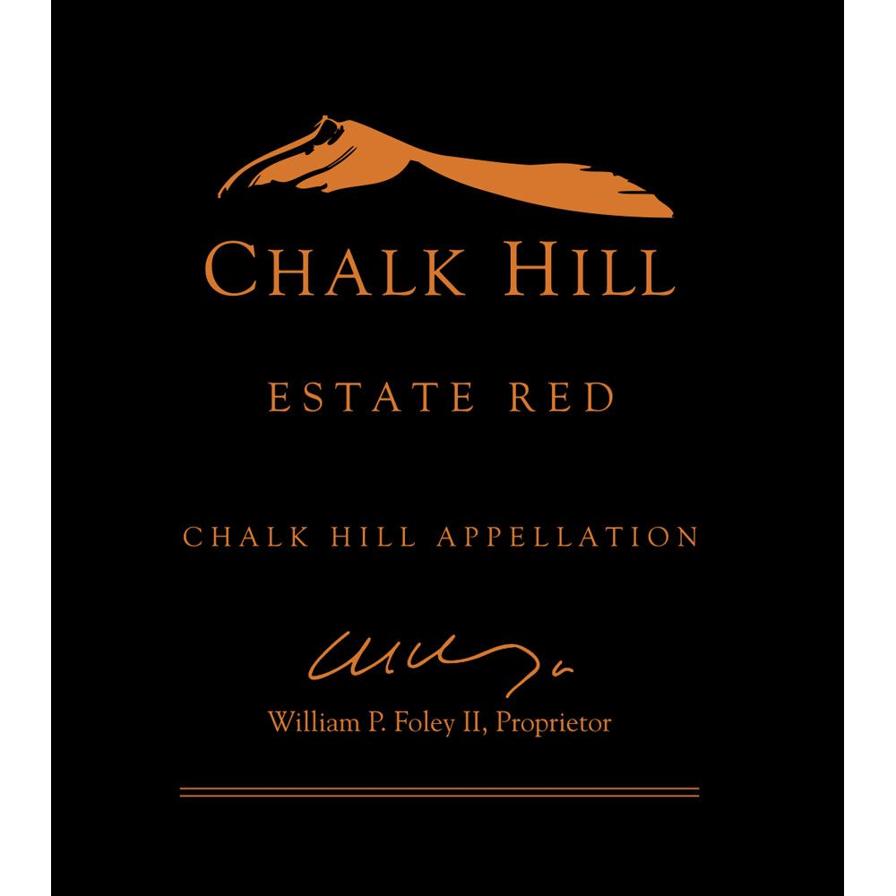 Chalk Hill Estate Red 2016  Front Label