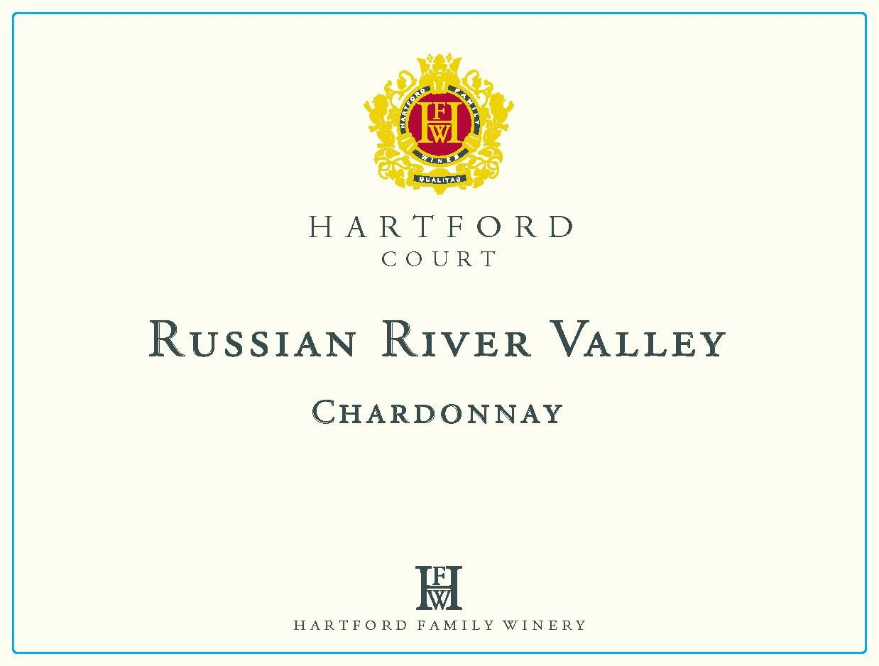 Hartford Court Russian River Chardonnay 2018  Front Label