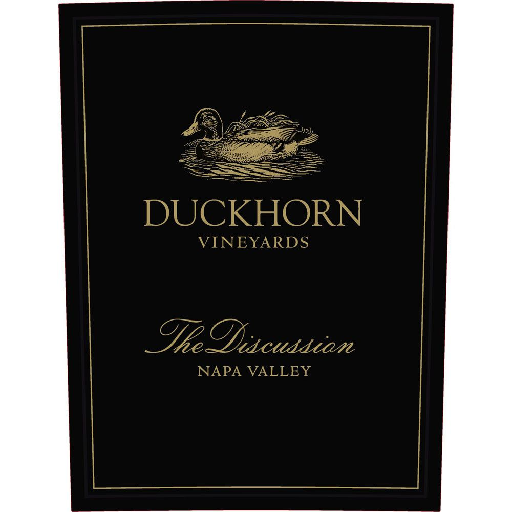 Duckhorn The Discussion 2015  Front Label