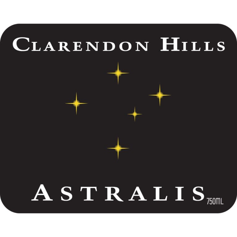 Clarendon Hills Astralis Syrah 2011  Front Label