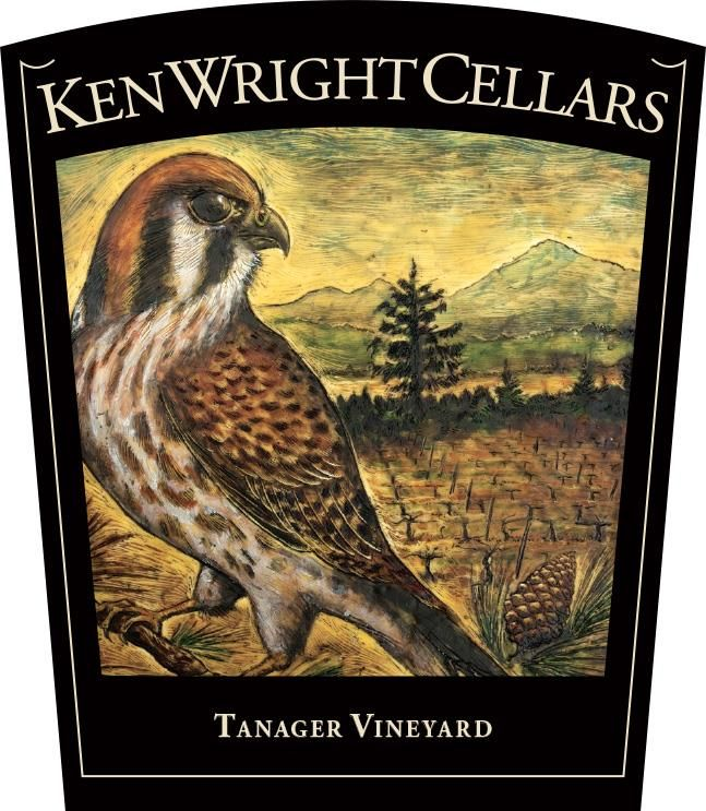 Ken Wright Cellars Tanager Pinot Noir 2017 Front Label