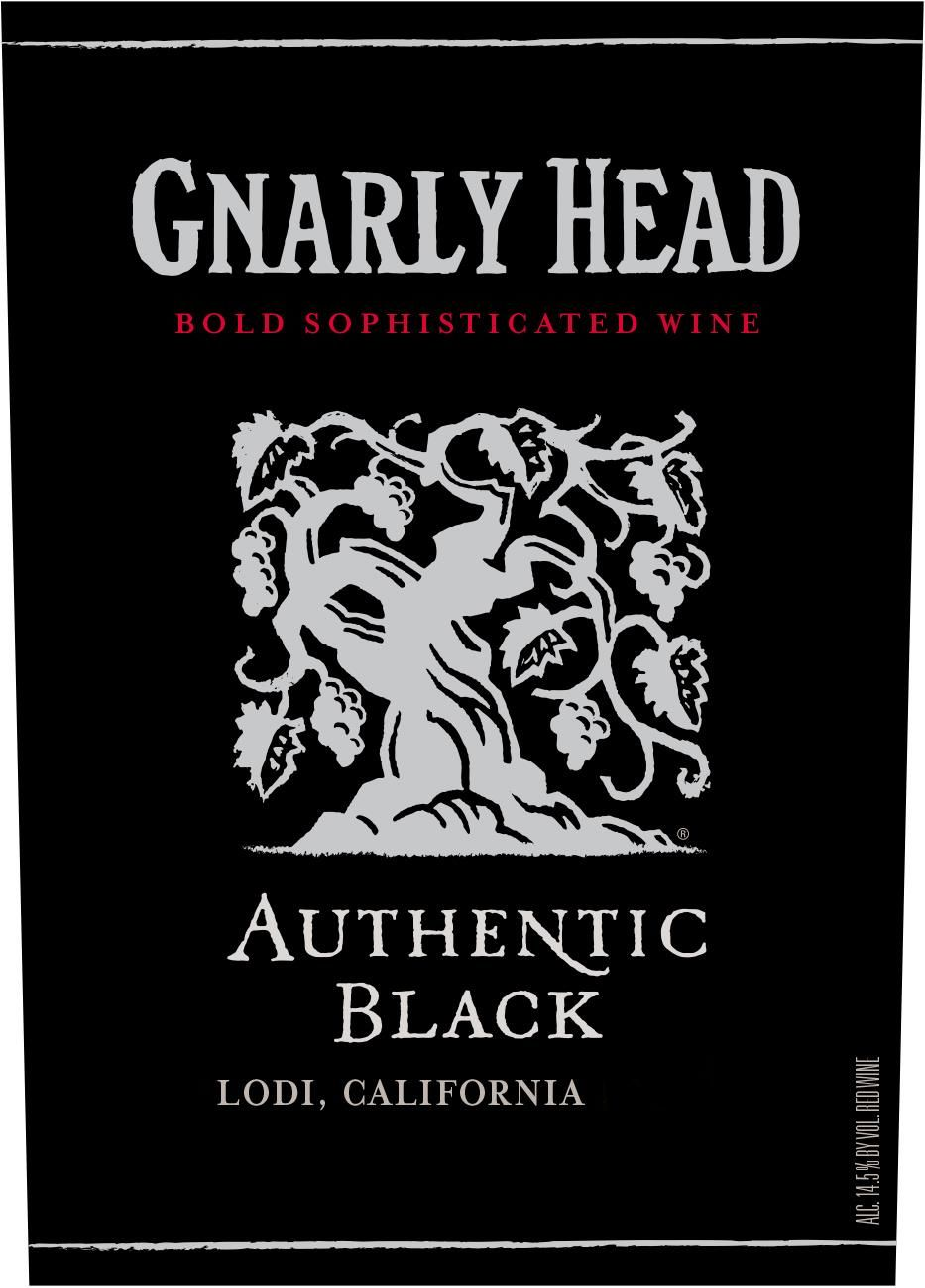 Gnarly Head Authentic Red Blend 2017 Front Label