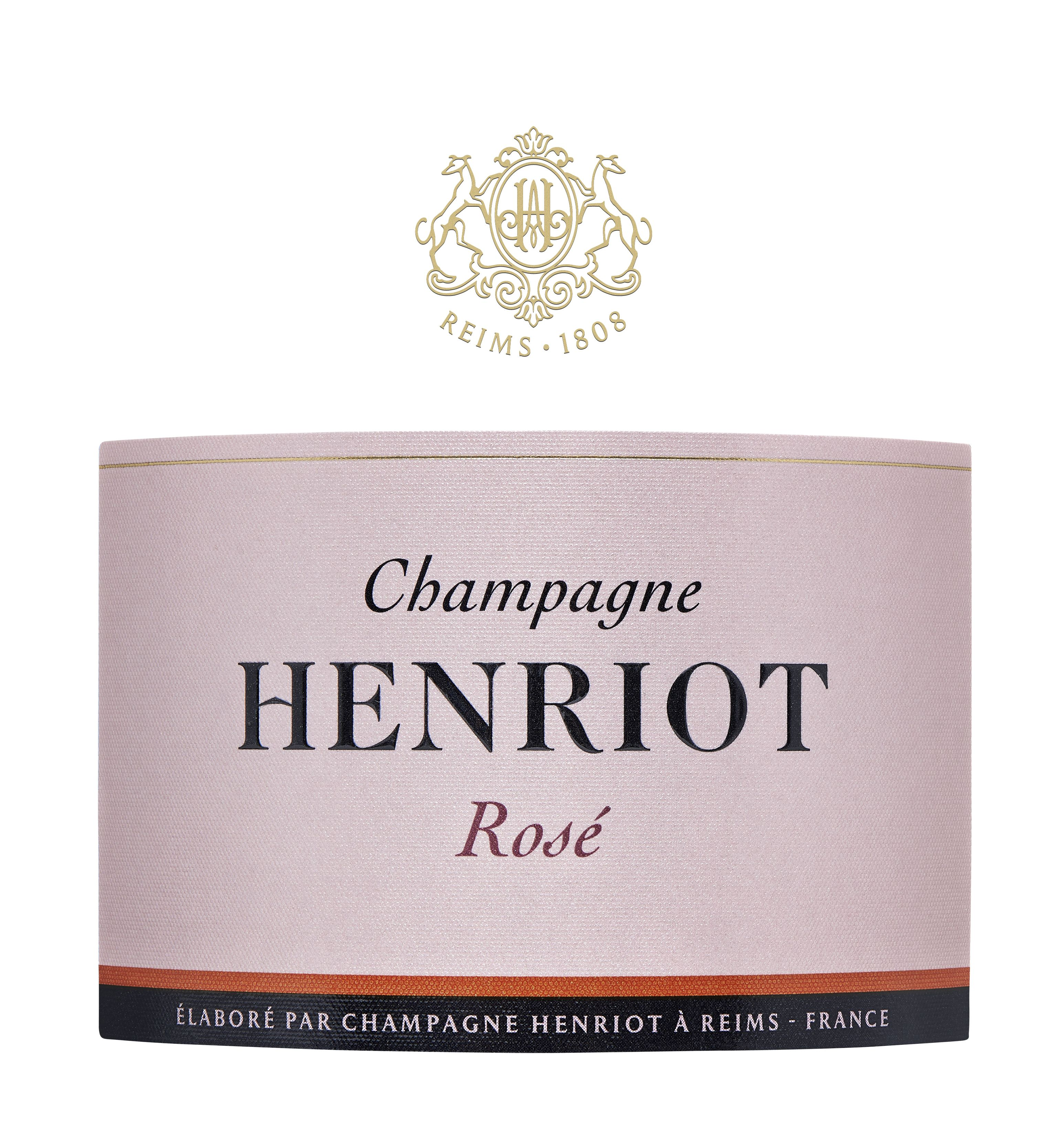 Henriot Brut Rose  Front Label