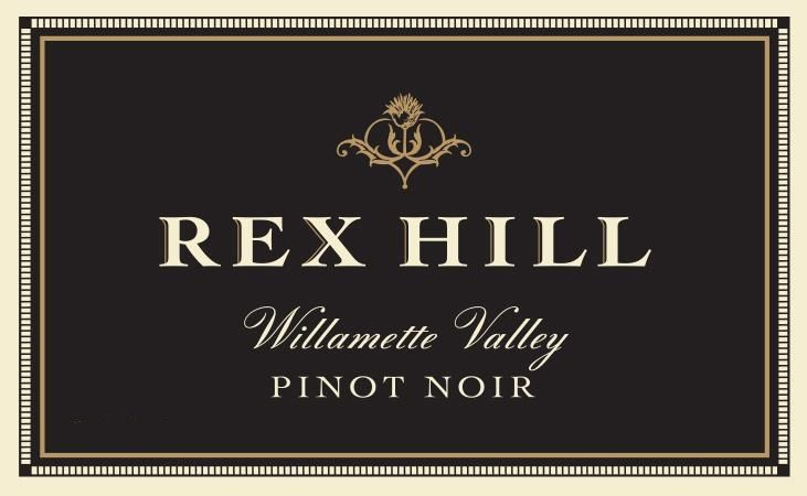 Rex Hill Willamette Valley Pinot Noir (375ML half-bottle) 2016 Front Label