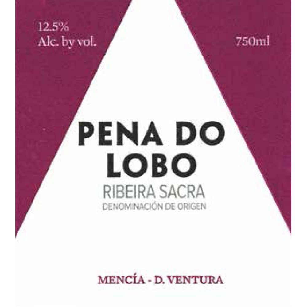 D. Ventura Pena do Lobo 2017  Front Label