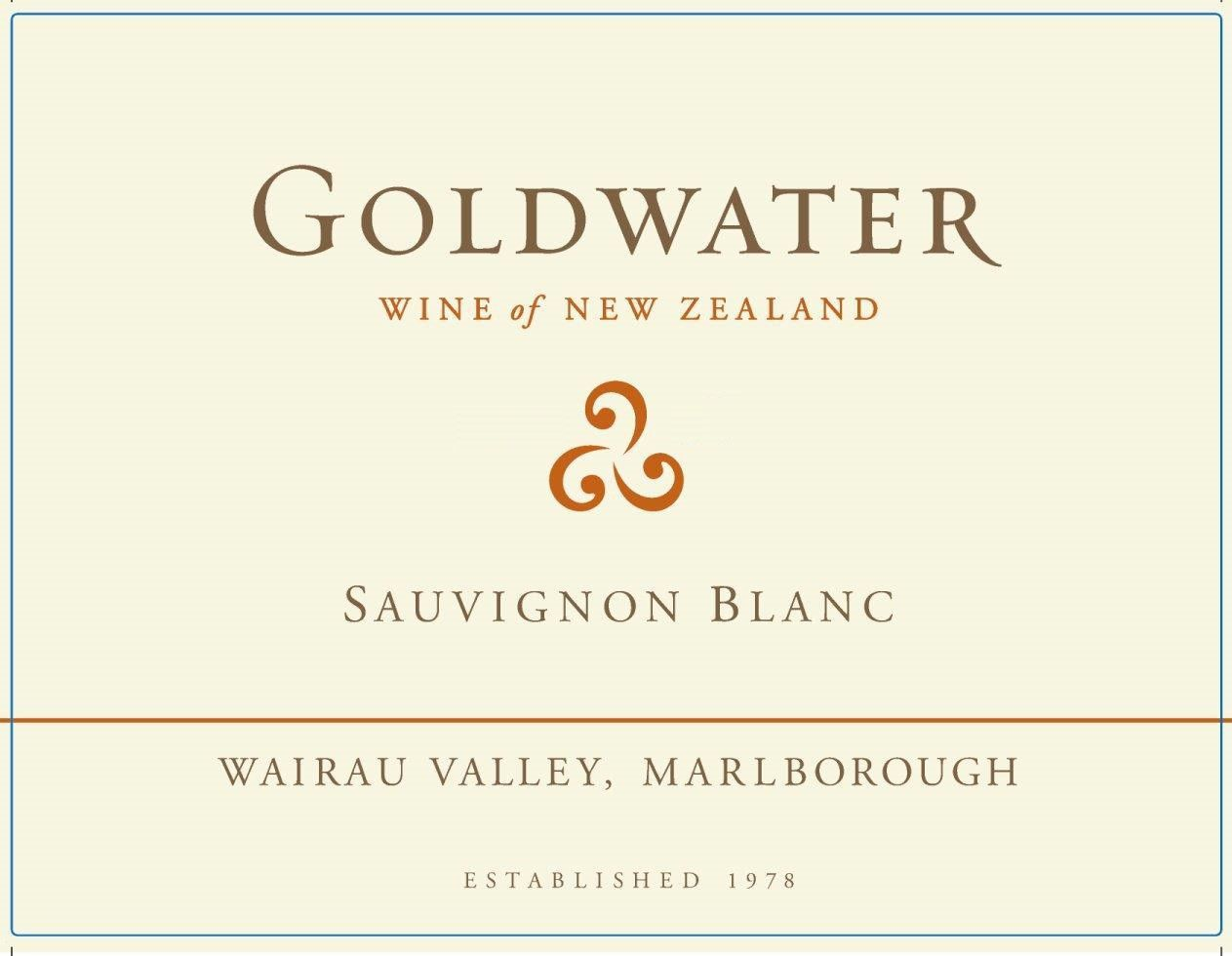 Goldwater Sauvignon Blanc 2017 Front Label