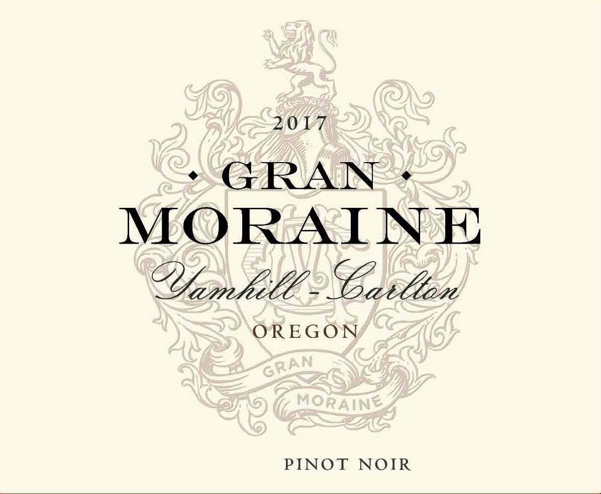 Gran Moraine Yamhill-Carlton Pinot Noir 2017  Front Label