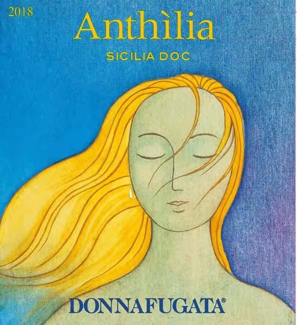 Donnafugata Anthilia 2018  Front Label
