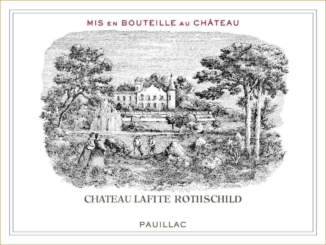 Chateau Lafite Rothschild (Futures Pre-Sale) 2018  Front Label