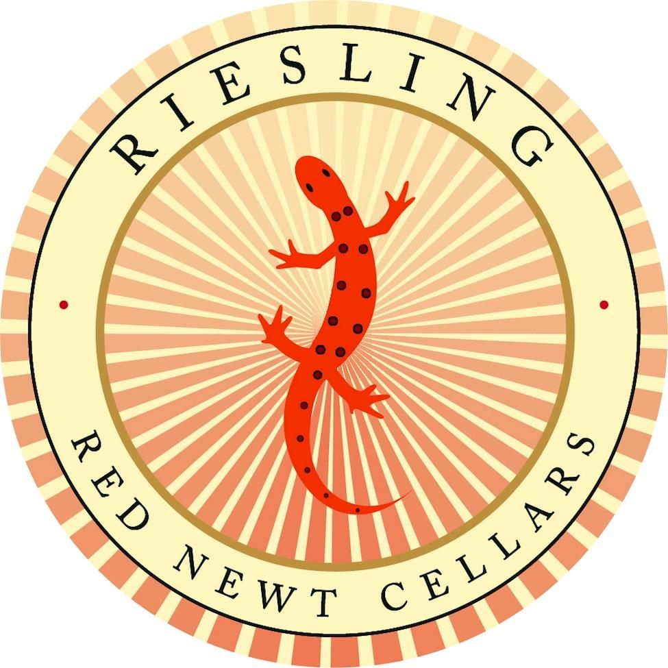Red Newt Cellars Circle Riesling 2017 Front Label