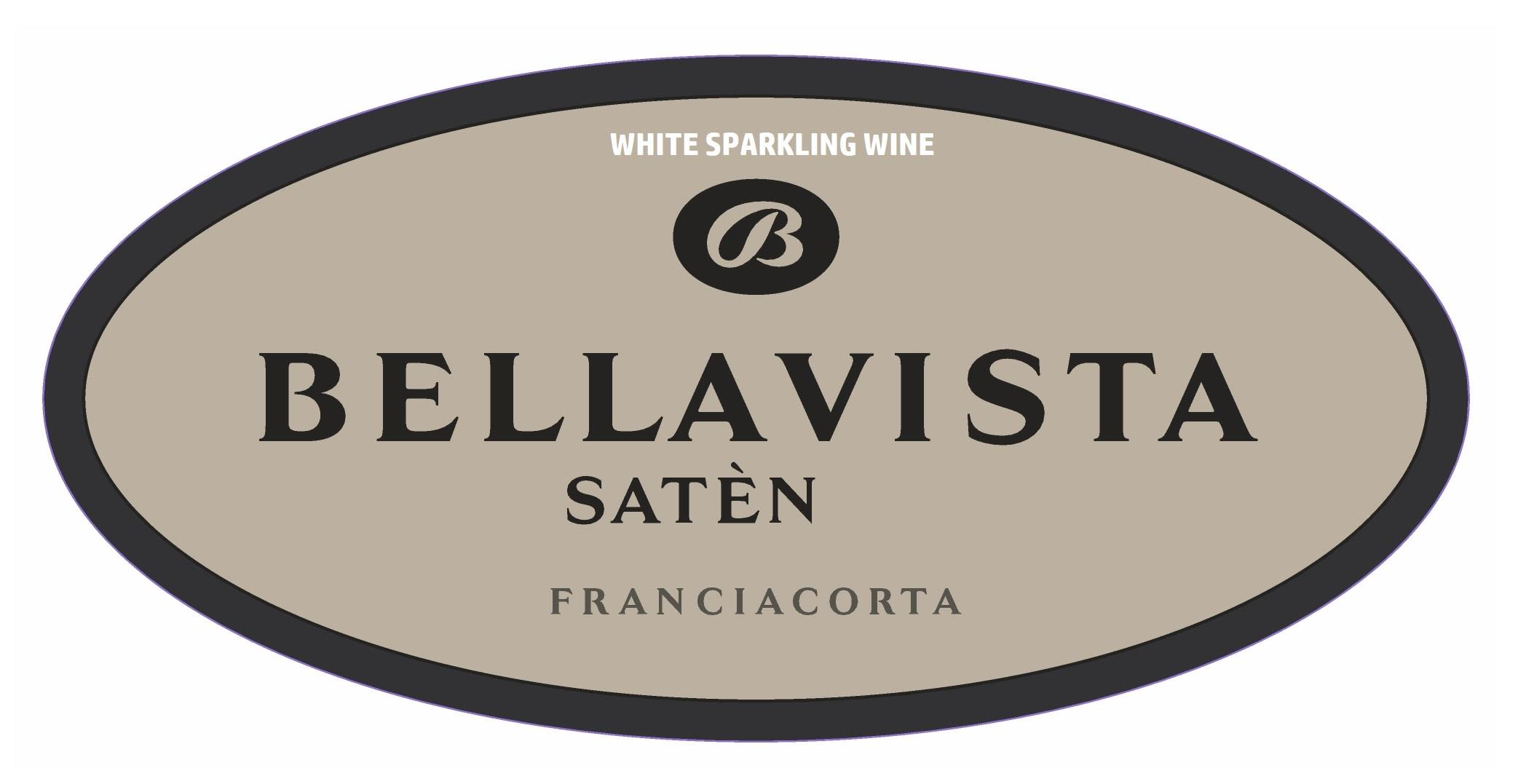 Bellavista Saten Brut 2013  Front Label