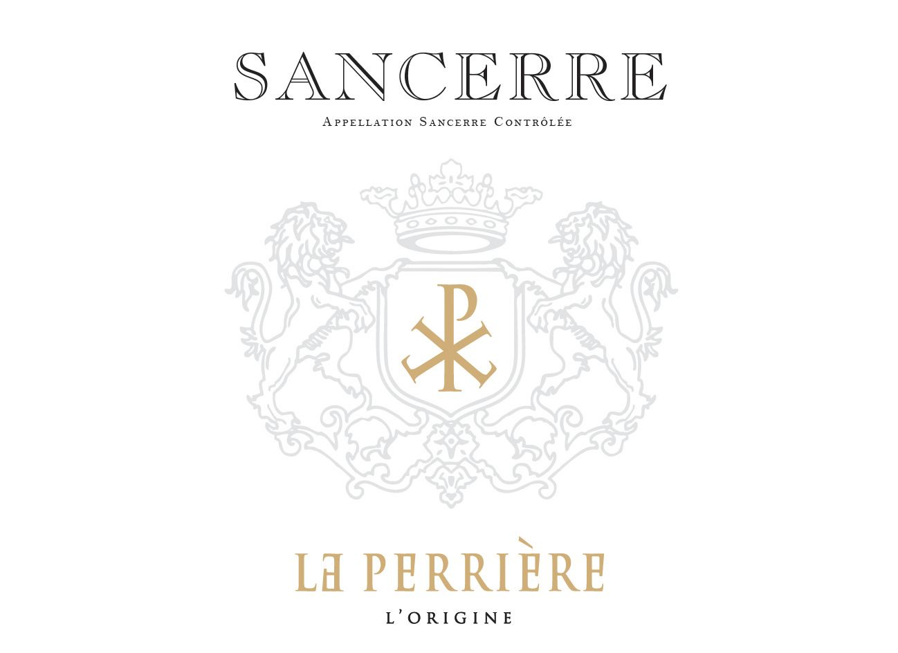 Saget la Perriere Sancerre 2018  Front Label