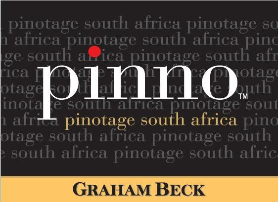 Graham Beck Robertson Pinno Pinotage 2010 Front Label