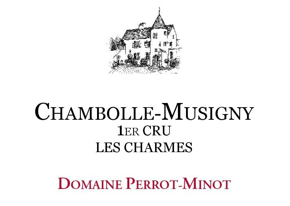 Domaine Perrot-Minot Chambolle-Musigny Les Charmes Premier Cru Vieilles Vignes 2012  Front Label