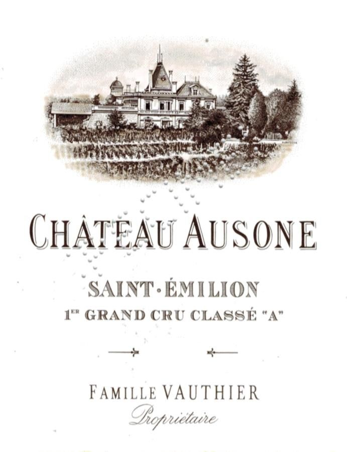 Chateau Ausone  2005  Front Label