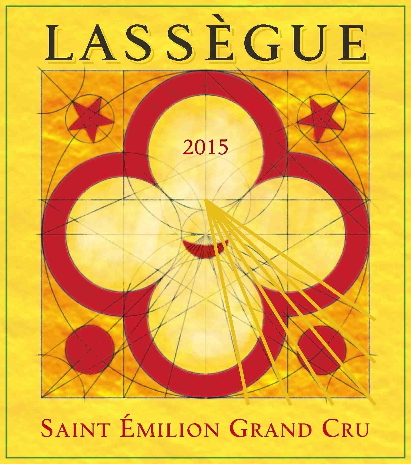 Chateau Lassegue  2015  Front Label