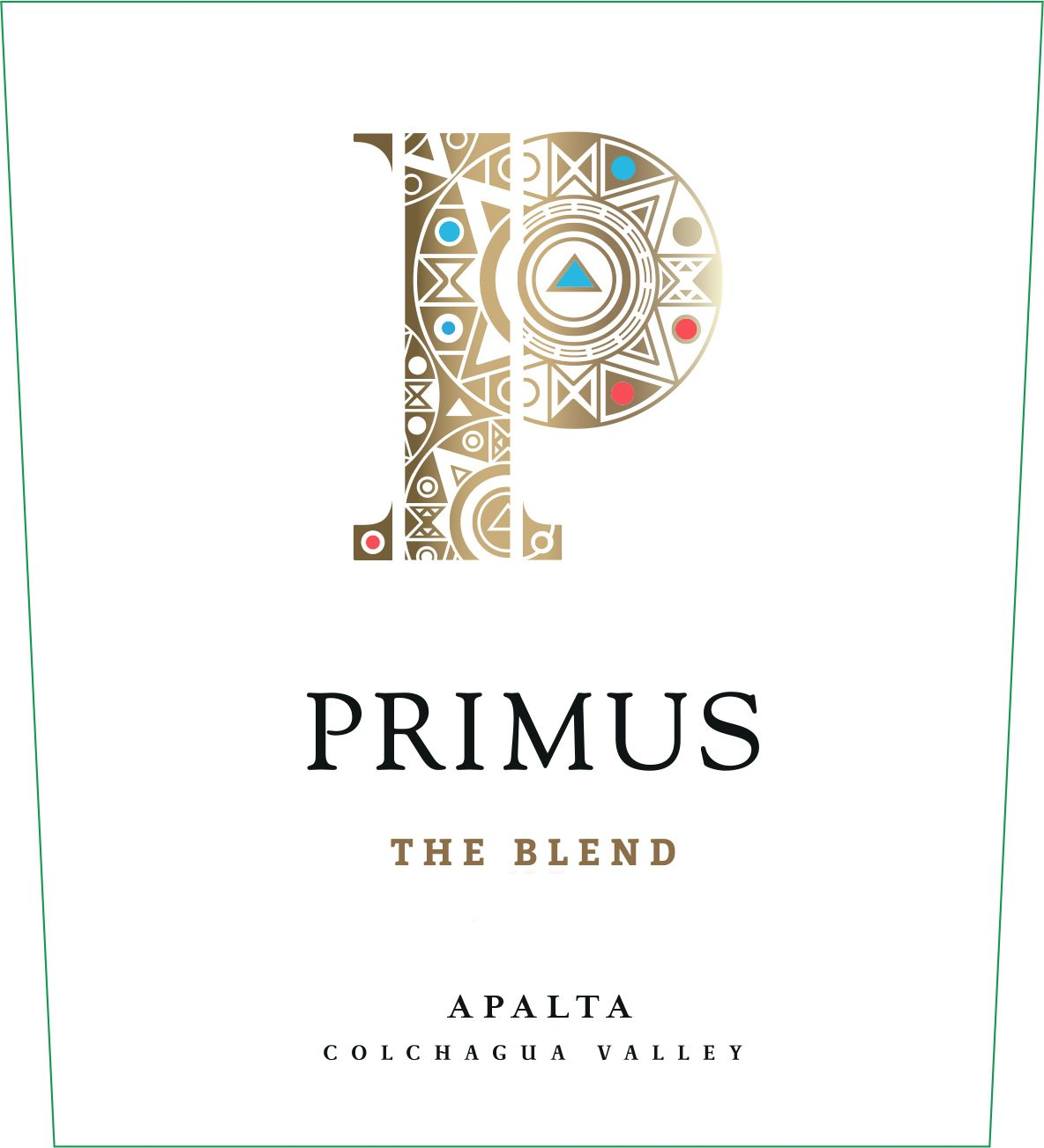 Primus The Blend 2017 Front Label