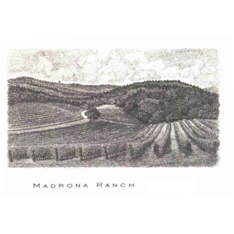 Abreu Vineyards Madrona Ranch 2015  Front Label