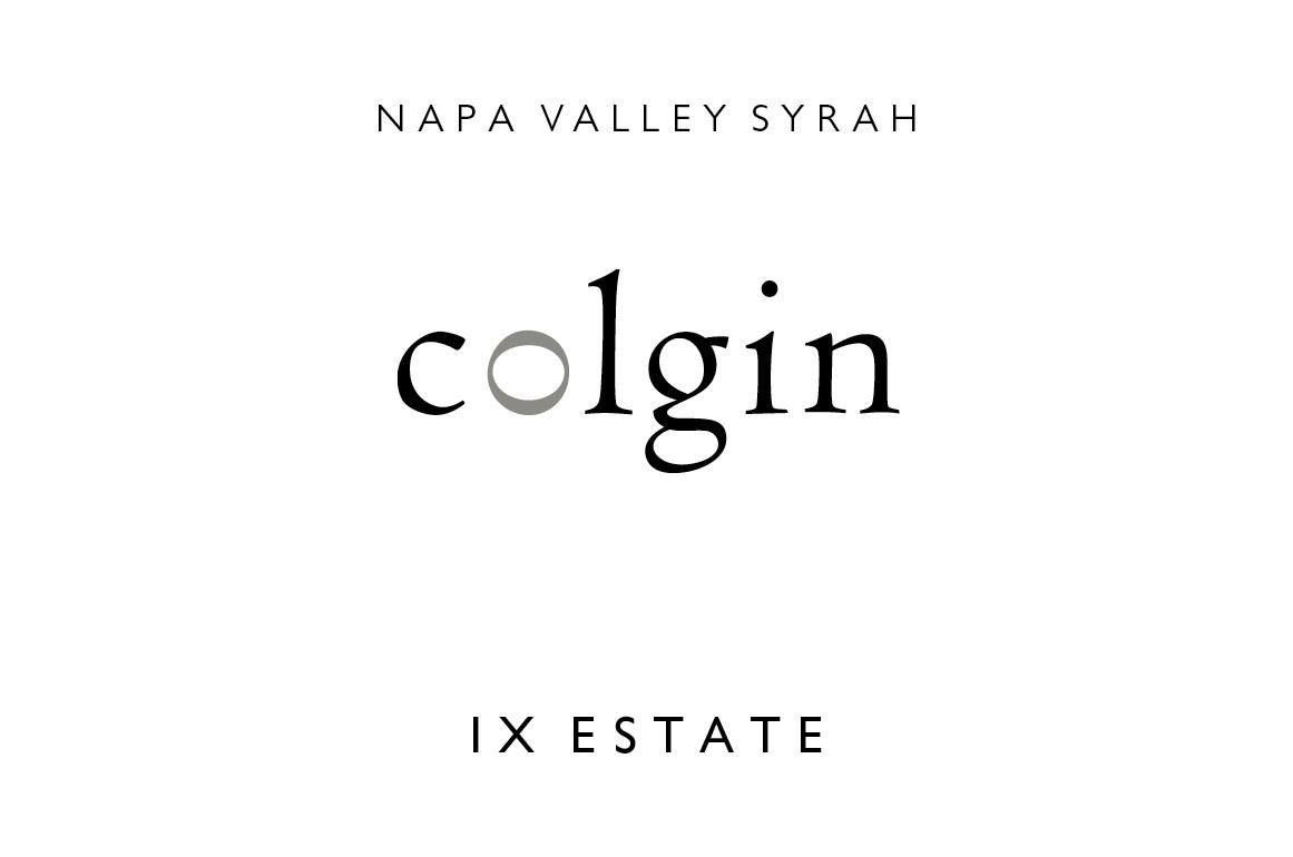 Colgin IX Estate Syrah 2017  Front Label