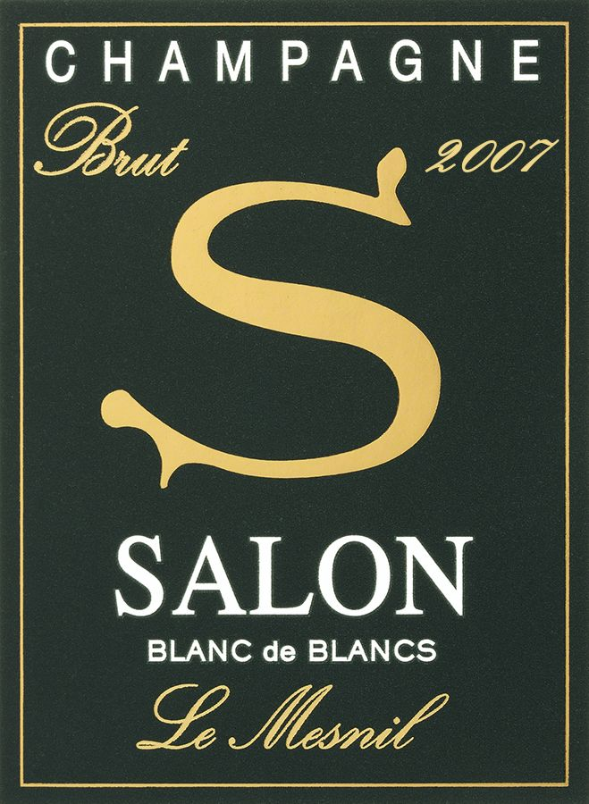 Salon Blanc de Blancs Le Mesnil 2007  Front Label