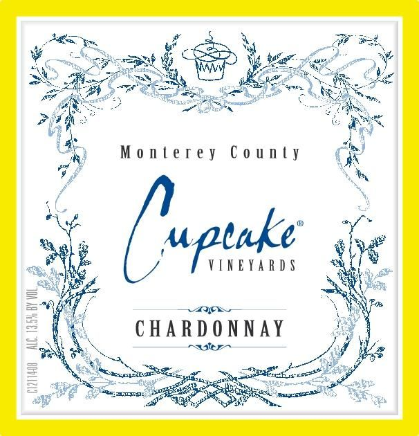 Cupcake Vineyards Chardonnay 2019  Front Label