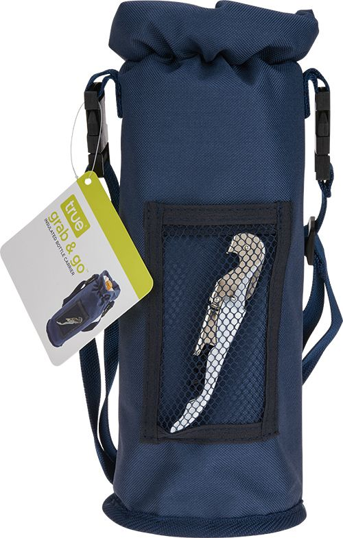 wine.com Insulated Bottle Carrier & Double Hinged Corkscrew  Gift Product Image