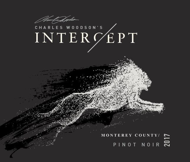 Charles Woodson Intercept Pinot Noir 2017  Front Label